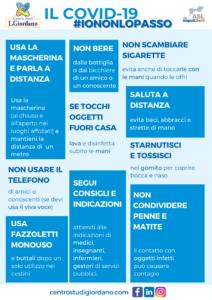 Il Covid-19 #iononlopass Centro Studi Giordano Napoli